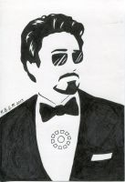 Tony Stark by Cosmic-Darkness