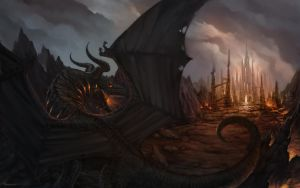 The Black Dragon - 02-09-12 by Lucastorquato27