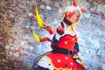 Eve Diamond Yaksha Red - Elsword by GianlucaBini