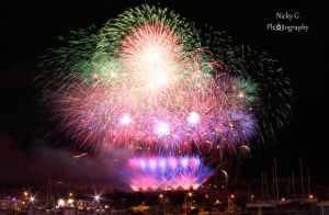 International Fireworks Competition 2014 ~ Photo 5 by NickyG-Photography