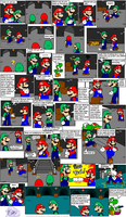 super mario bros page 43 by Nintendrawer