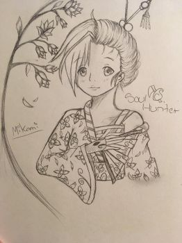 OC Mikami  by Soulhunter98