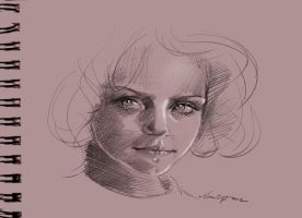 daily sketch 1114 by nosoart