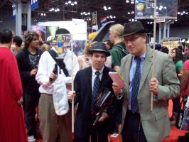 L.A. Noire Cosplay Group at NY by soren7550