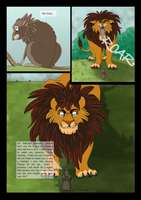 The lion and the mouse Page 2 by Ardengrail