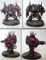 Drakkan Soth, Helbrute/ Dreadnought of Khorne by Majere613