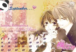 Junjou Romantica calendary by MarikIshtarLove