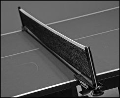 Ping Pong, B and W by mycarisfaster