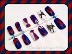 Dalton Academy Warblers Nail Set by Classikelly