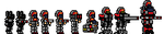 CONFED PIXEL ART INFANTRY by madcomm