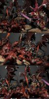 Khorne Demon army by SimonaFilipH