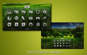 Android Slide for XWidget by boyzonet