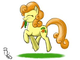 Day 19- Carrot Top by RavenousDrake