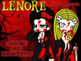 Lenore and Ragamuffin love.... by FerzyPPGD