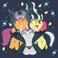 Nightmare Night CMC's: Shadowbox Mock-up by The-Paper-Pony
