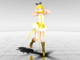 MMD NC: Sweet Candy Rin by KagamineLeto