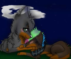 .:CE:. Midnight cuddles... by DustyKatt