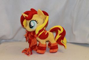 Filly Sunset Shimmer by KarasuNezumi