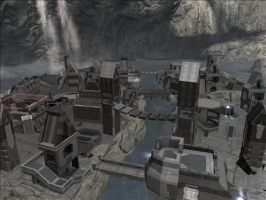 Halo Reach Map: Osgiliath by KindiChan