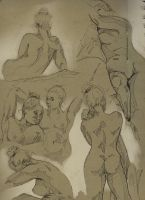 Life Drawing by Talfox