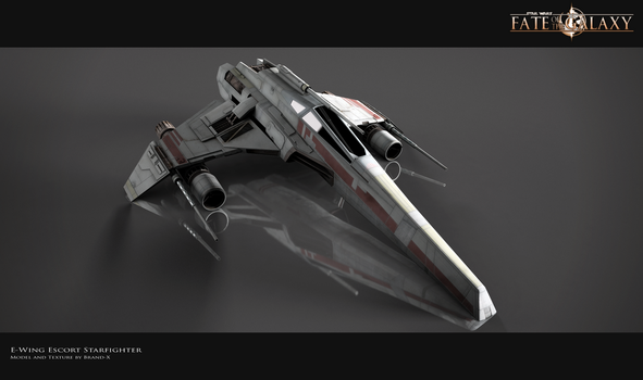 E-Wing Escort Starfighter by Brandx0