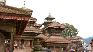 Durbar square by Gregos