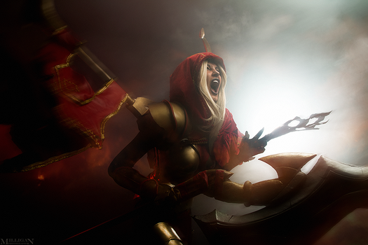 DotA 2 - Legion Commander by MilliganVick