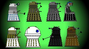 Dalek Tribute by Moon-manUnit-42