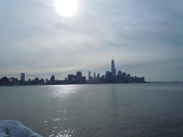 Looking Across The Hudson River by Brooklyn47