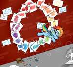 Paper Rainboom by secret-pony