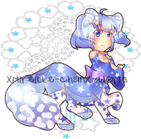 Starry taur adoptable - CLOSED! by XMireille-chanX