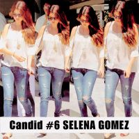Candid #6 Selena Gomez by SMILERMICHELY