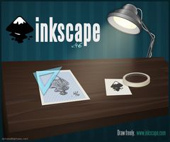 Inkscape 0.46 about screen by dphase