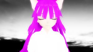[MMD] Ohiko 3 [_theBlue] by CryogenicNeon