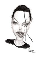 Angelina Jolie by ImRoGeR