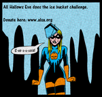 Eve Does The Ice Bucket Challenge by ivy7om