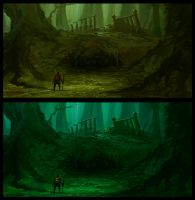 Forest Concept Piece 4 by parkurtommo