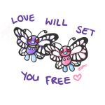 012 - Butterfree by Moo-feeler
