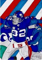 Micheal Strahan Superbowl 2008 by VOLIVOD
