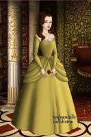 Belle:Tudors doll by Arinna007