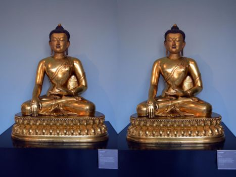 A Buddha Made For The Chinese Emperor Qianlong by aegiandyad
