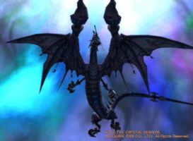 FFCB- Holy Crap, Bahamut. by may7733