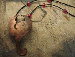 Fawkes Necklace by Ilionej