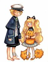 Oliver and young SeeU by hahuchal