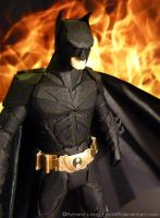 Paper Batman Close Up by Richi89