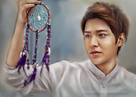 Lee Min-ho - Portrait by FantasyFusion