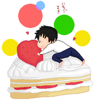 Death Note L's Cake! by Puffypaw