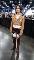 Comicpalooza 2015 - Levi cosplay by Imperius-Rex