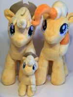 All the Mango Ponies! by eebharas