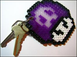 __poison mushroom key-chain by bleedsopretty